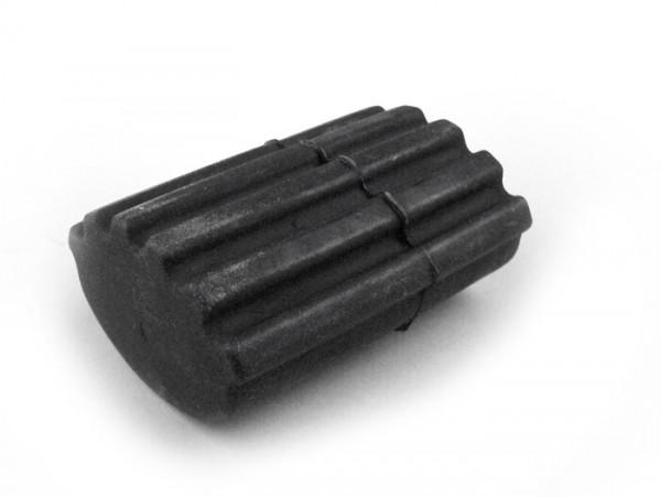 Brake pedal rubber -PIAGGIO- Vespa PK S-XL, PX, T5 125cc - black
