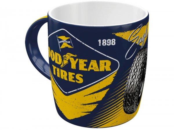 "Mug -Nostalgic Art- ""Goodyear - Eagle Tire"", Ø=85mm x 90mm, 340ml"