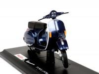 Model -MAISTO 1:18- Vespa P150X (1978) - blue