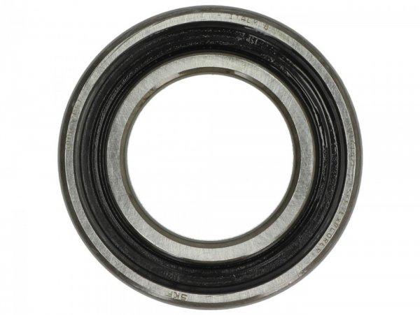 Rodamiento de bolas 30x55x13mm -PIAGGIO 6006-2RS1- usado para la cubierta de la caja de cambios/eje de la rueda trasera - Vespa GT L 200 (ZAPM31200), Vespa GTS 125 (ZAPMA3100, ZAPMA3200, ZAPMA3700), Vespa GTS 150 (ZAPMA3200, ZAPMA3100), Vespa GTS 250