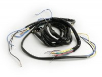 Mazo de cables -VESPA- Vespa 125 VNB6T, Super, GT125 (VNL2T), GTR125 (VNL2T), TS125 (VNL3T), Sprint150 (VLB1T), Sprint Veloce, Rally180 (VSD1T) - pulsador claxón contacto tipo NC (sin batería)