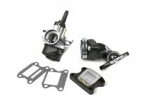 Vergaserkit -BGM Pro 17,5mm PHBN- Peugeot 50 ccm 2-Takt (vertikal, Elektrochoke) - Peugeot, Honda - HONDA BALI 50, DIO, SFX, SGX SKY, SH 50, SHADOW 50, X8RS, X8RX, SXR, PEUGEOT BUXY 50, ELYSEO 50, ELYSTAR 50, JETFORCE 50 TSDI, LOOXOR 50 TS