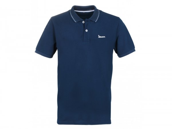 "Polo-shirt, Herren -VESPA ""Graphic"", blau- M"