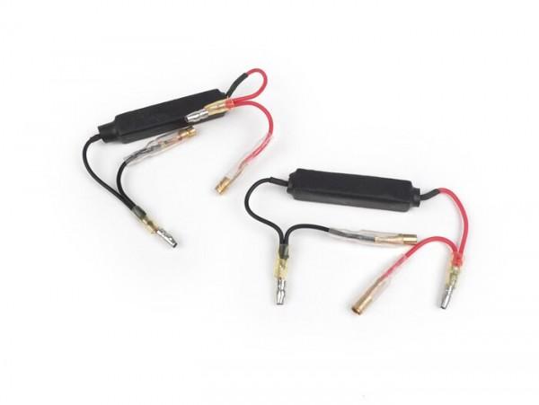 Vorwiderstand-Set für LED-Blinker -10W- Universal