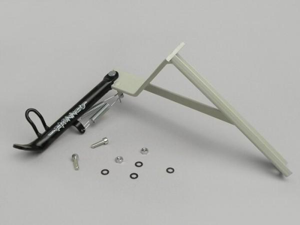 Seitenständer -BUZZETTI- MBK Mach G, Yamaha Jog R Luftgekühlt - Schwarz