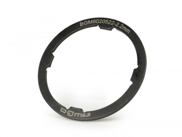 Schulterring -BGM ORIGINAL- Vespa Largeframe VNA, VNB, VBA, VBB, GL, Sprint, GT, GTR, TS, Rally, PX alt (-1984) - 2,20mm (+0,0 /- 0,04mm)