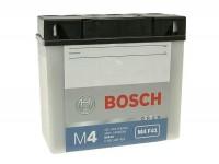 Batterie -Standard BOSCH 12N19AH / 51814- 12V 18Ah -186x82x171mm (inkl. Säurepack)