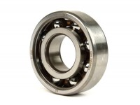 Ball bearing for crankshaft -MALOSSI- 6204 (20x47x14mm) - C4 polyamide, ball Ø=7.9mm, carbonitrided inner ring - (used for crankshaft CPI / Minarelli 50cc (type MA, MY, CW, CA, CY), Vespa V50, V90, PV125, ET3, PK S, PK XL (flywheel side))