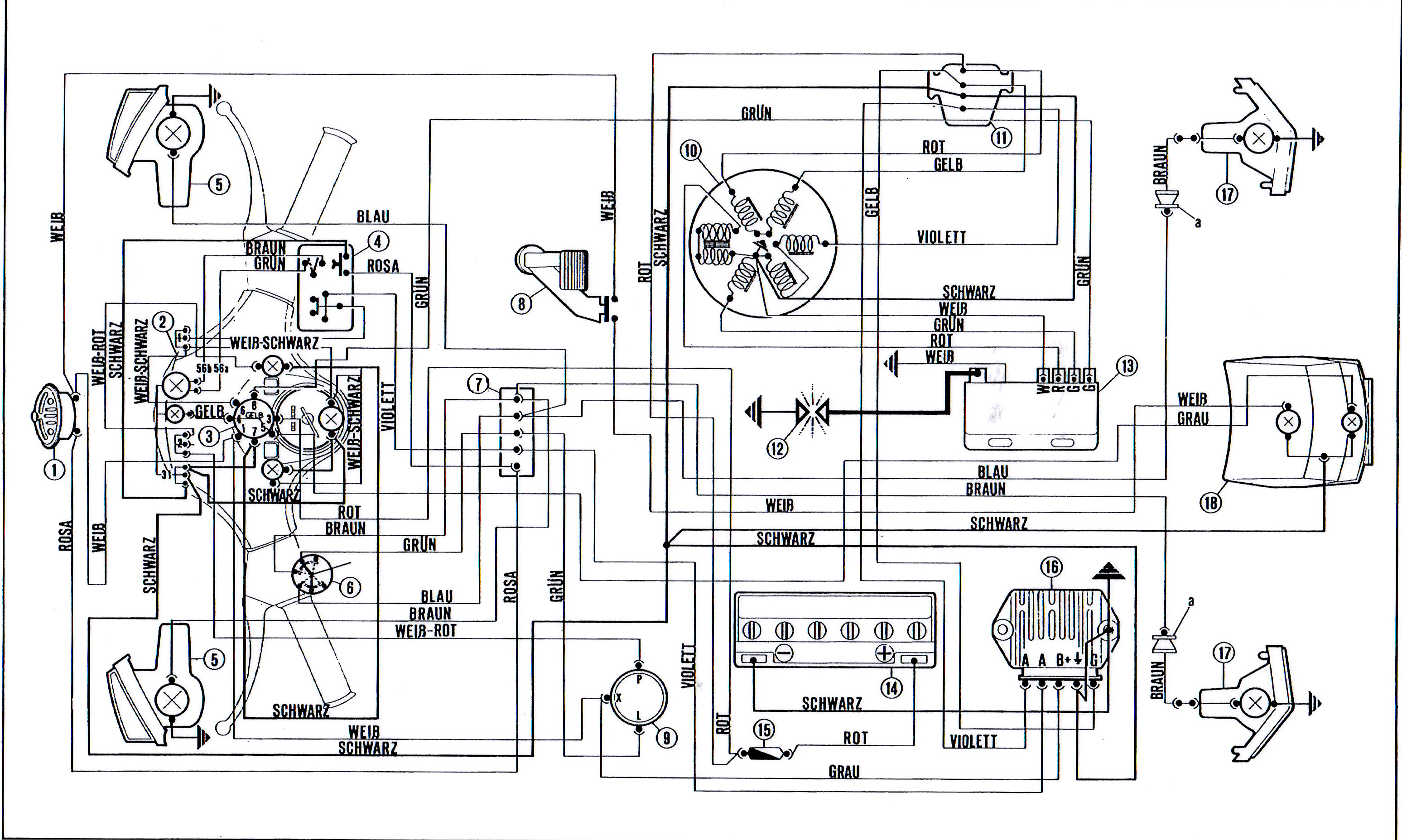 on vespa px 125 wiring diagram
