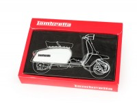 Keyring -LAMBRETTA side panel-