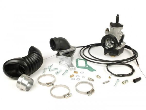 Carburator kit -MALOSSI 28mm Dellorto PHBH BS, reed valve X360 V2.0- Vespa PX, Sprint, Rally180 (VSD1T), Rally200 (VSE1T)