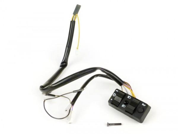 Lichtschalter -VESPA- PK50 (schweizer Modelle), PK50 S Elestart (österreichische Modelle - bis Nr 180977), PK80 S Elestart, PK125 S