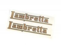 Schriftzug Tank -LAMBRETTA- Lambretta - C, D, E, F