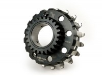 Clutch sprocket -BGM PRO- Vespa Cosa2, PX (1995-), BGM Superstrong, Superstrong CR - (for 62/63 tooth primary gear, straight) - 25 tooth
