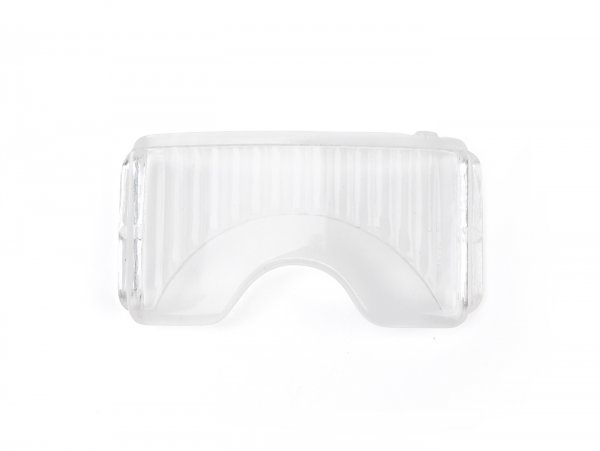 Ersatzglas für Kennzeichenbeleuchtung -HELLA (NOS), Schwanenhals- Vespa V50, GS150 / GS3 (deutsch)