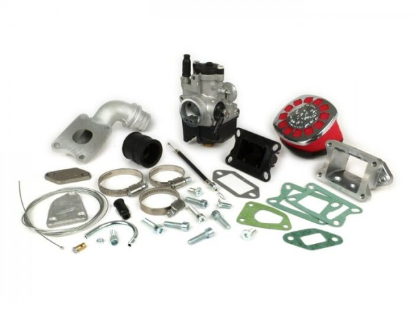 Carburator kit -MALOSSI MK 2 136 cc reed valve, 25mm Dellorto PHBL- Vespa PK S, PK XL