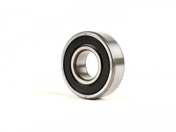 Ball bearing -6204 2RS (both sides sealed)- (20x47x14mm) - (used for drive shaft Vespa PX, T5 125cc, Cosa, Rally180 (VSD1T), Rally200 (VSE1T), Sprint150 (VLB1T), TS125 (VNL3T), GT125 (VNL2T), GTR125 (VNL2T) - rear wheel shaft Piaggio 50-180cc 2-strok