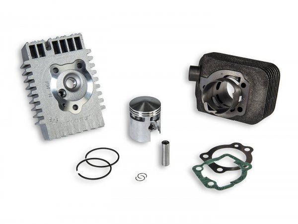 Cylinder -MALOSSI CVF 65 cc Sport- Piaggio Bravo, Boss, Grillo, SI, Superbravo (gudgeon pin = Ø 10mm)