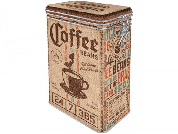 "Kaffeedose, Aromadose -Nostalgic Art- ""Coffee Sack"" - 7.5x11x17.5cm (1.3l)"