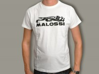 T-Shirt -MALOSSI- Weiss - Small