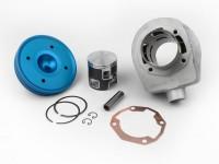 Cylinder -PARMAKIT TSV09 187 ccm 3 Ports, 60mm stroke, triple exhaust port- Vespa PX125, PX150, Cosa125, Cosa150, GTR125, TS125, Sprint Veloce (VLB1T 0150001-)