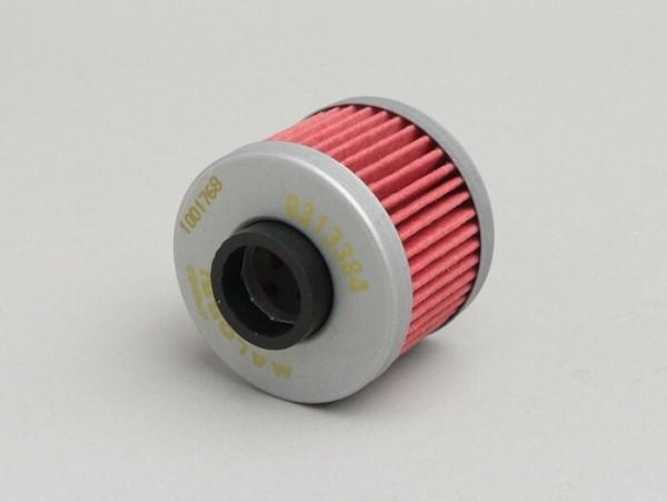 Filtro de aceite -MALOSSI Red Chilli- Rotax 125-150 ccm, Peugeot 125 ccm (Euro 3)