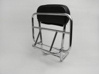 Rear rack, fold down + backrest -AMS CUPPINI- Vespa Largeframe