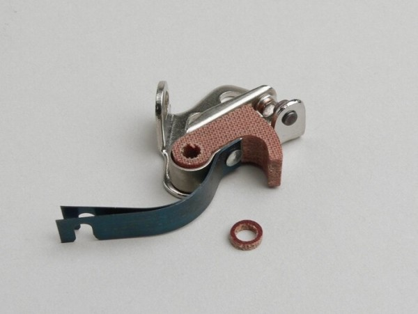 Platinos -DUCATI- Lambretta LI, TV (hasta el año 1962, encendido de 4 bobinas)