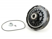 Clutch -BGM Pro Superstrong 2.0 CR Ultralube, type Cosa2/FL - for primary gear 64/65 tooth - Vespa PX200, Rally200 - 22 tooth