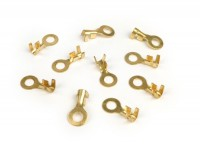 Crimp terminal -ring tongue 6.5mm Ø=1.0-1.5mm²- 10 pcs