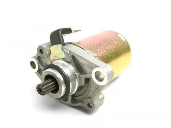 Motor de arranque -BGM ORIGINAL- Piaggio 50cm³ de 2 tiempos, Peugeot 50cm³ (tipo Speedfight) - 11 dientes