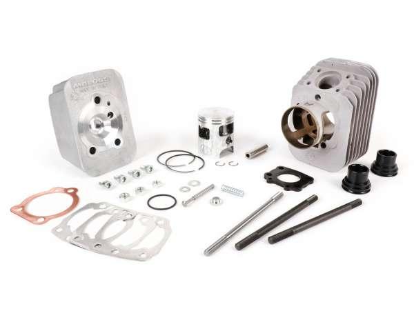 Zylinder -MALOSSI 75 ccm BIG DEPS Ø47mm- Piaggio Ciao, Ciao PX (Kolbenbolzen = Ø 10mm) - Motorgehäuse muß ausgespindelt werden