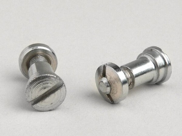 Pair of screws (brake lever + clutch lever) -OEM QUALITY- Vespa 125 VNA1-2T, VNB1-2T, GS 150 VS1T