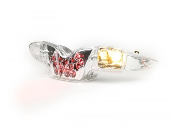 Rücklicht -BGM ORIGINAL Klarglas LED Waben- Gilera Runner (bis bj. 2005)