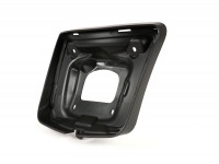 Tail light frame -MOTO NOSTRA- Vespa GTS, GTS Super 125-300cc (2014-, facelift) - matt black