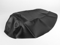 Seat cover -X-TREME- Piaggio NRG MC3 - Carbon Style