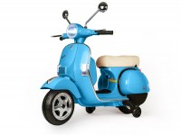 Scooter for kids -Vespa PX150- electric - blue