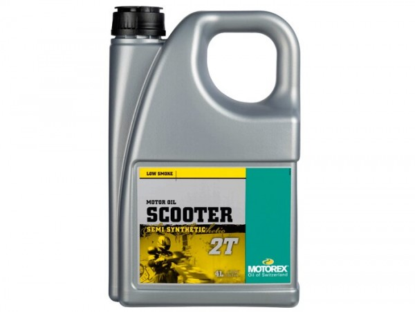 Öl -MOTOREX Scooter 2T- 2-Takt synthetisch - 4000ml