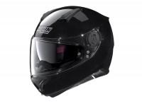 Helmet -NOLAN, N87 Special Plus, N-COM- full face helmet, metallic black - XXS (54cm)