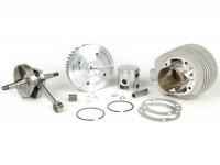 Tuningkit -PINASCO 190cc 2 Kanal Zylinder Aluminium Ø=63mm, Kurbelwelle Hub=60mm- Vespa Sprint150 (VLB1T), GT125 (VNL2T), GTR125 (VNL2T), Super, GL150 (VLA1T), VNA, VBA, VNB, VBB