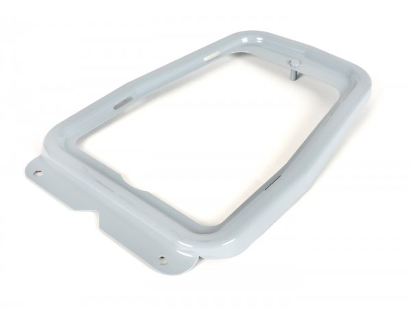 Luggage rack plate -AMS CUPPINI- Vespa V50 (series 1) - open, unpainted