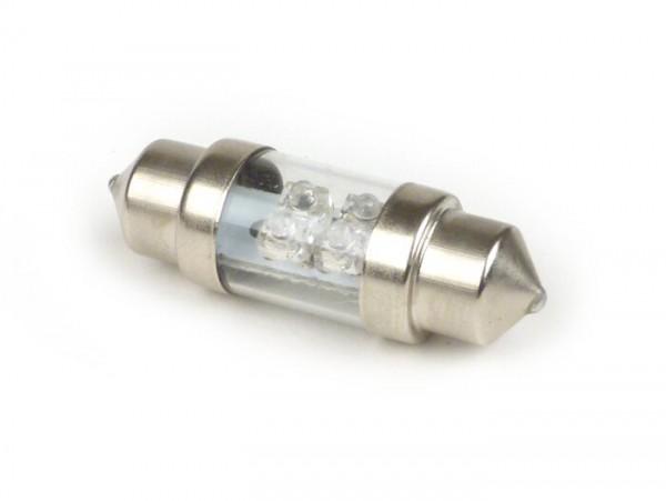 Soffitte - LED SV8,5 10x32mm- 12V - rosso