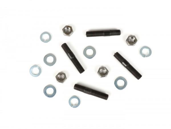 Stehbolzen-Set inkl. Muttern -M7 x 35mm- (verwendet für Zylinder Vespa V50, PK50)