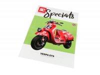 Flyer - Broschüre -SC Specials: VESPA GTS 125-300- Ausgabe 01/2019 - english
