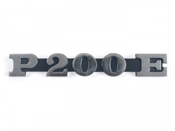 Schriftzug Seitenhaube -VESPA- P 200 E - Vespa PX200 (Bj. 1978-1983)