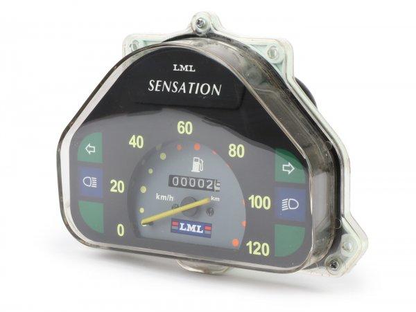 Tacho -LML- LML Sensation, Vespa PK XL2 - 120km/h