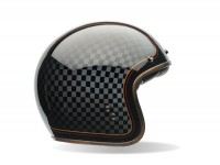 Casco -BELL Custom 500 Special Edition, RSD Check It- casco jet, nero - XS (54-55cm)