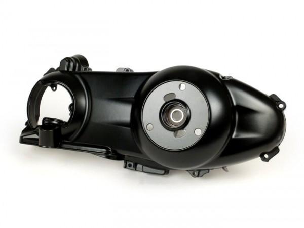 Variator cover -MOTO NOSTRA- Quasar 250-300 ccm - Vespa GTS250/300, GTV250/300, Aprilia Atlantic 250/300, Derbi GP1 250/300, Gilera Nexus 250/300, Piaggio MP3 250/300, X7 250/300, X8 250, X9 250, X Evo 250 - powder coated - matt black