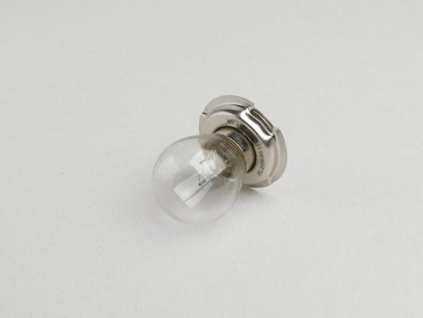 Birne -P26s- 6V 15W - Weiss - passend für z.B. Scheinwerfer Vespa V50, Ciao