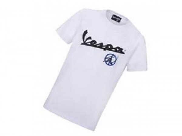 """T-Shirt -VESPA """"Sean Wotherspoon Collection""""- weiß - S"""